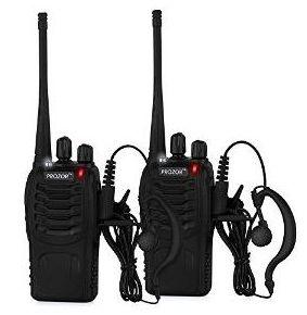SHTF walkie talkies