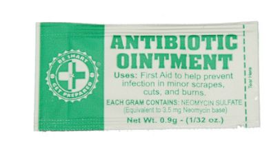 antibiotic ointment for wilderness first aid