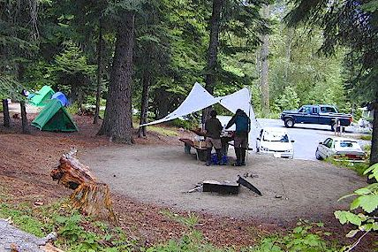 Here is an example of what a typical campground might look like.