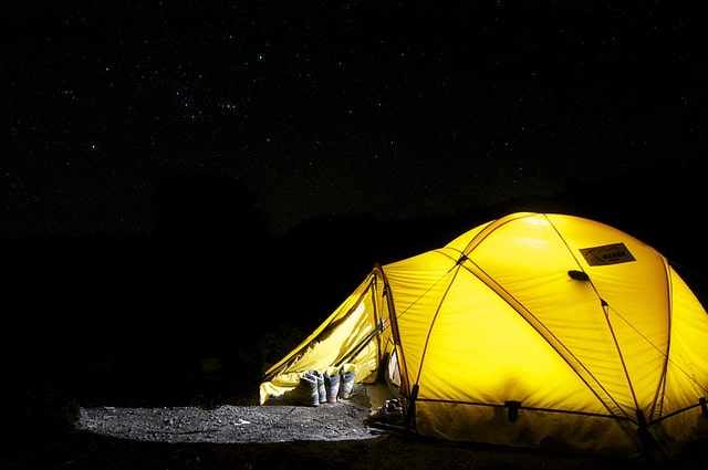 get started with camping