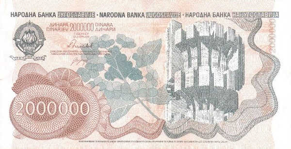 hyperinflation in Yugoslavia