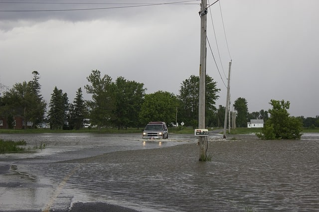 flooding driving