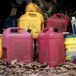 gasoline stockpile