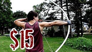 homemade bow arrow