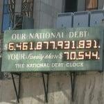 national debt economic collapse