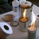 toilet paper heater