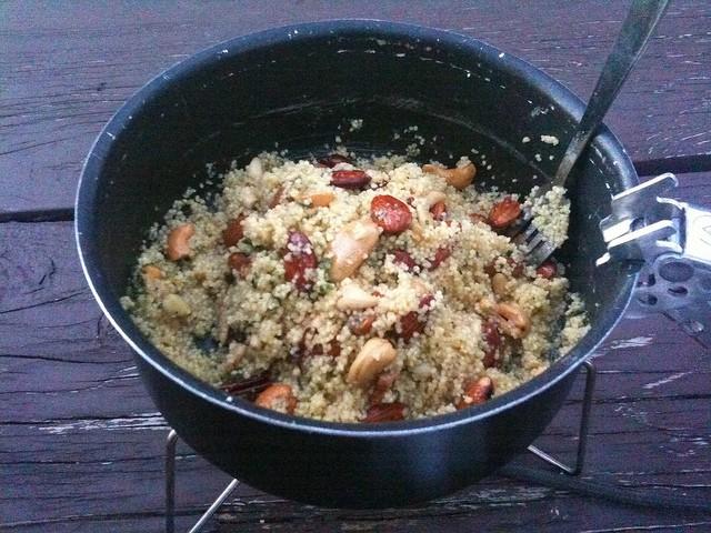 couscous campfire cooking