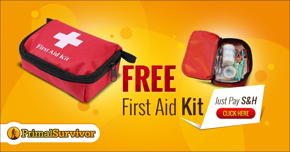 Get Your Free First Aid Kit Now!