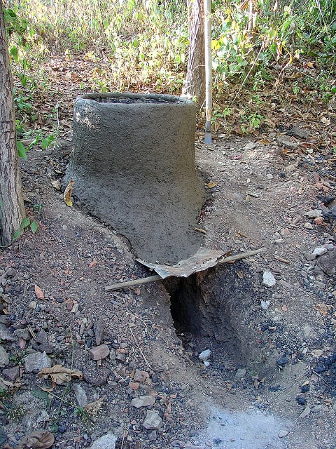 earth rocket stove design