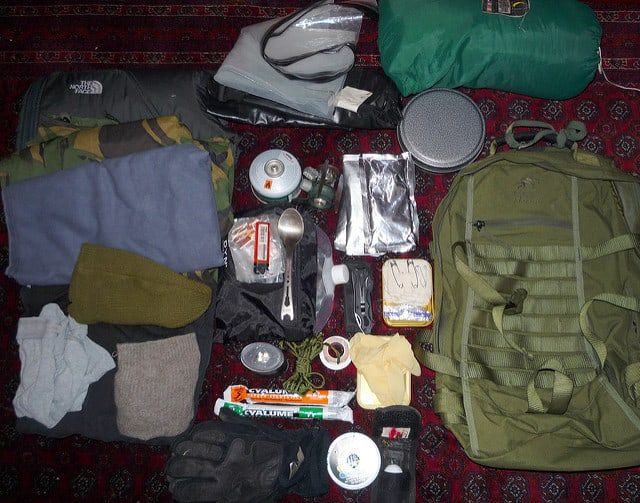 secondary bug out bag contents