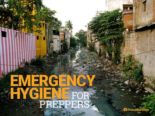 The Emergency Hygiene Problems No Prepper Wants to Talk About post image