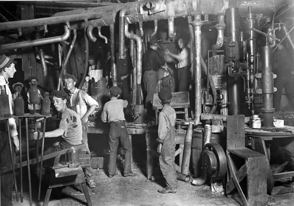 workers during industrial revolution