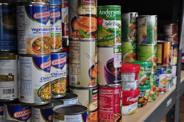 canned food shelf life