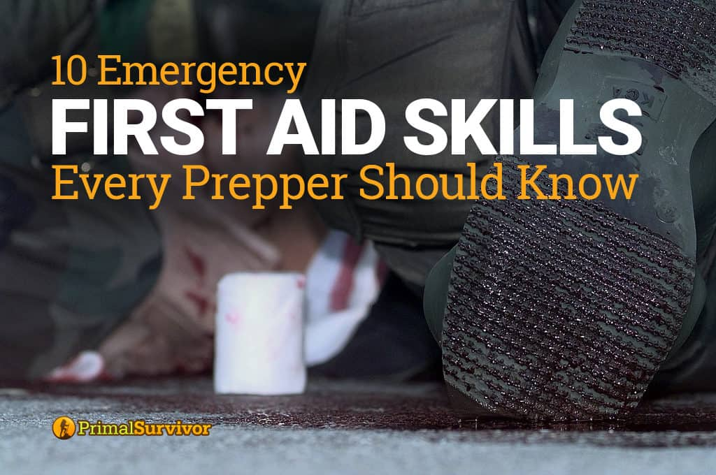 10 First Aid Skills Every Prepper Should Know post image