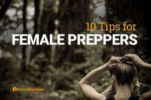 tips for female preppers