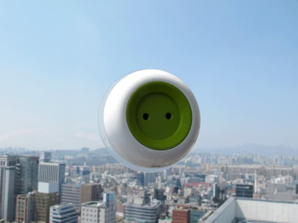 off grid window solar socket