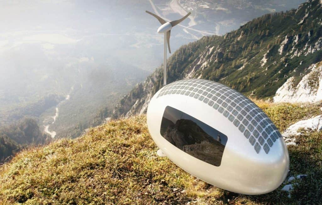 ecocapsule off grid home