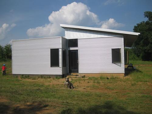 green modern kits off grid home