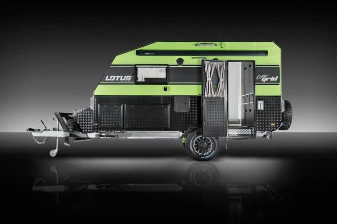 off grid by lotus rv