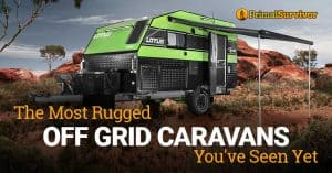 off grid rv caravans
