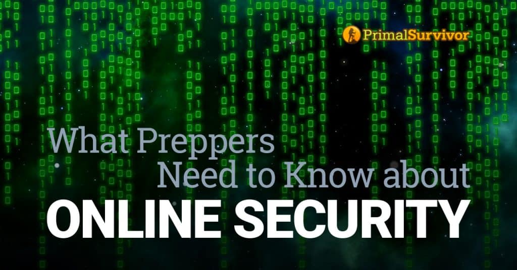 prepper online security