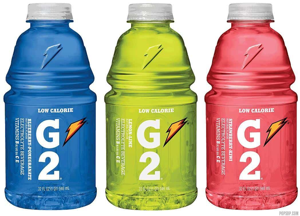 Gatorade bottles last much longer than milk jugs for storing water