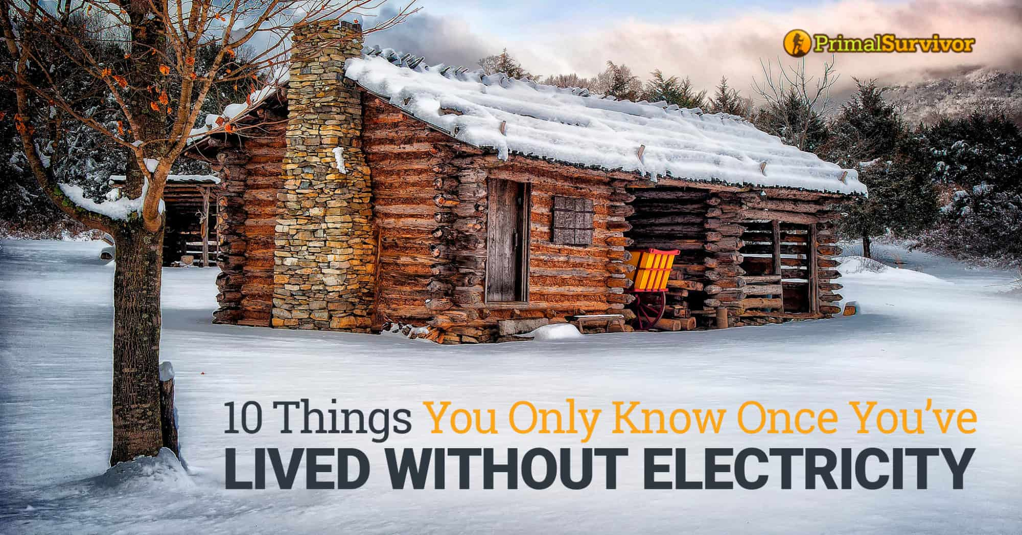 10 Things You Only Know Once You've Lived without Electricity post image