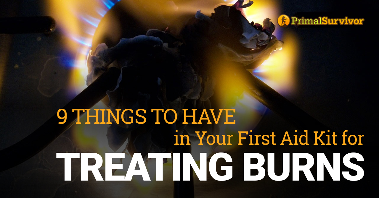 9 Things to Have in Your First Aid Kit for Treating Burns post image