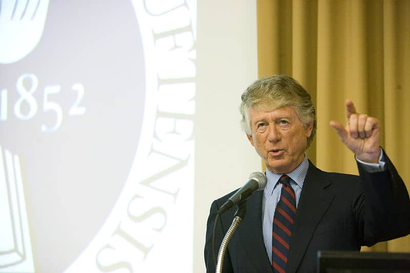 Journalist Ted Koppel is an avid prepper