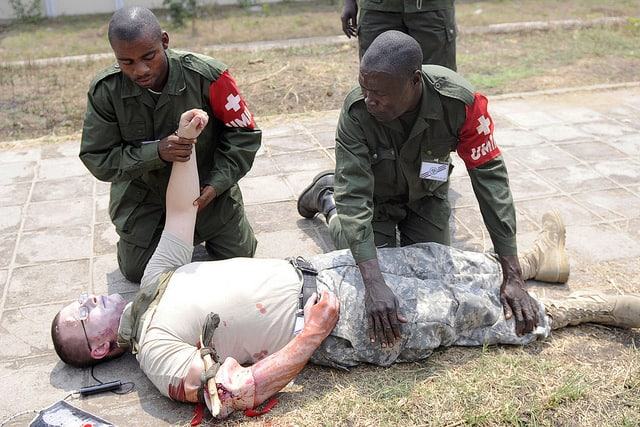 first aid drills
