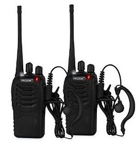 SHTF walkie talkies