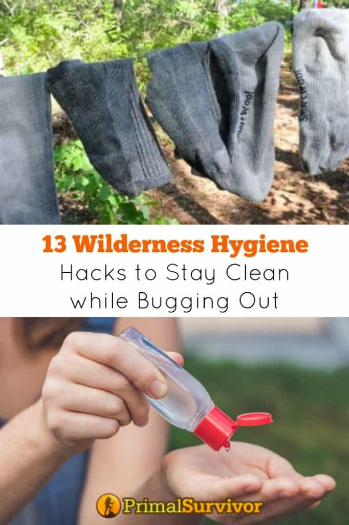 13 Wilderness Hygiene Hacks to Stay Clean while Bugging Out