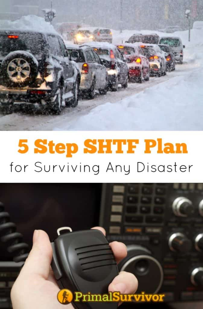 5 Step #SHTF Plan for #surviving any #disaster