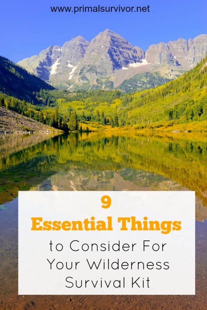 9 Essential Things to Consider For Your Wilderness Survival Kit