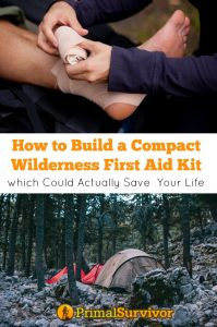 How to build a compact #wilderness #first aid kit