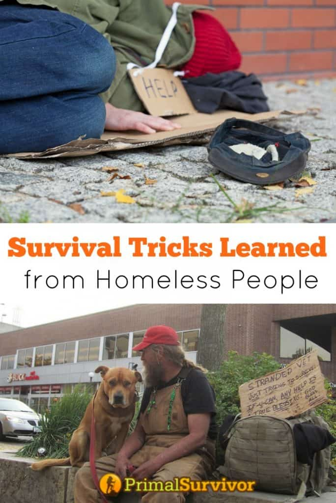 Survival Tricks Learned from Homeless People