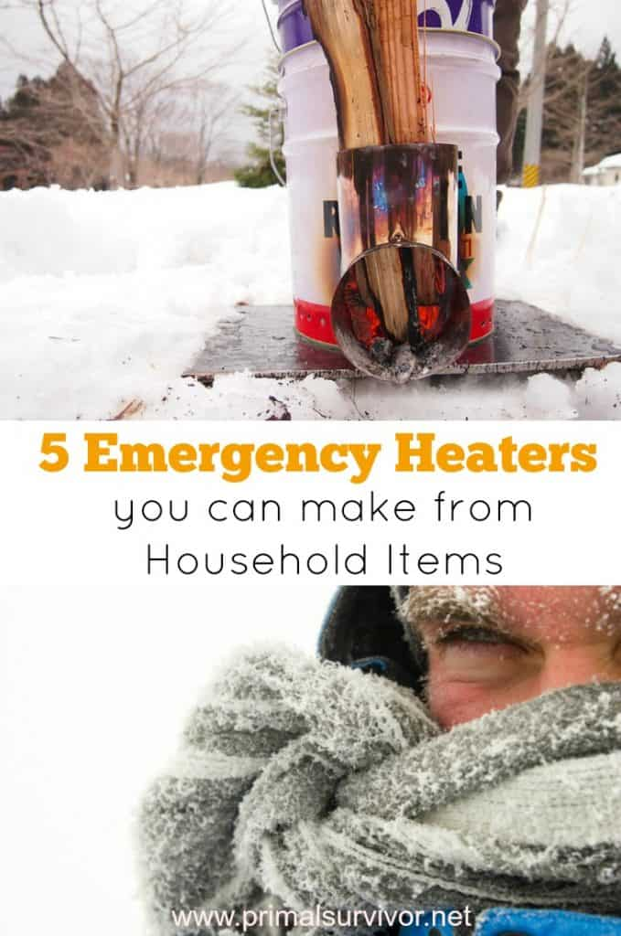 5 emergency heaters you can make from household items
