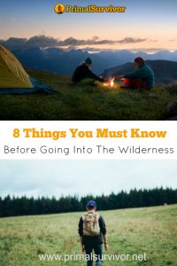 8 things you must know before going into the wilderness