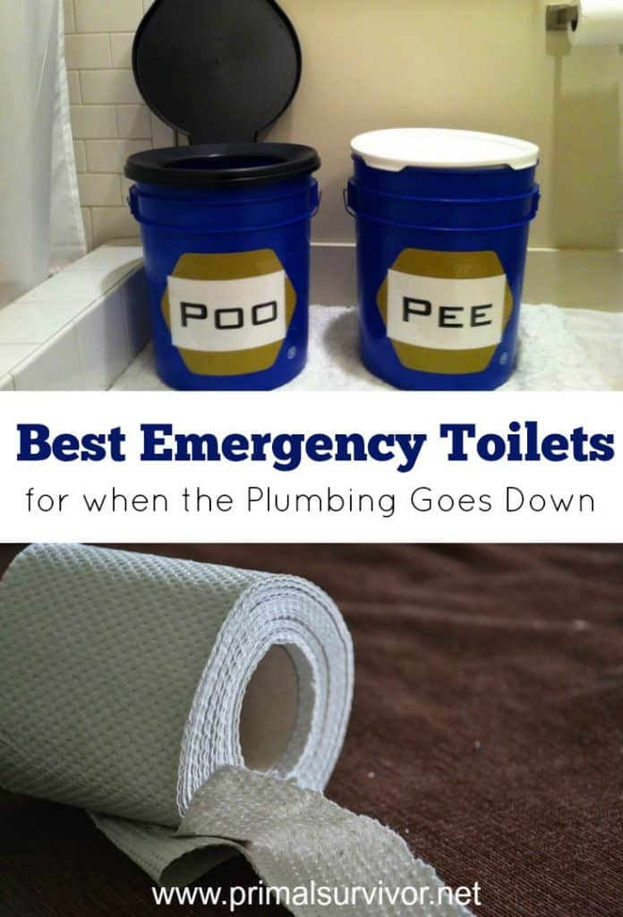 Best Emergency Toilets for when the Plumbing goes down