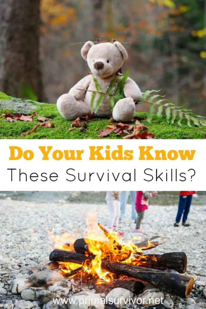Do your kids know these survival skills