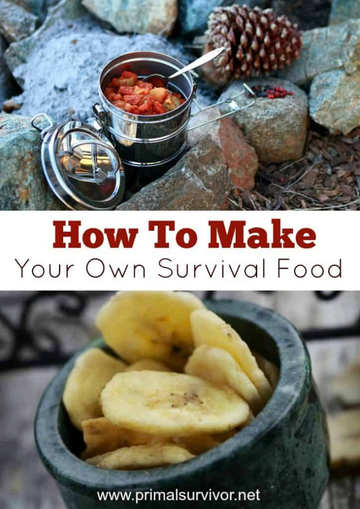 How to make your own survival food MRE's