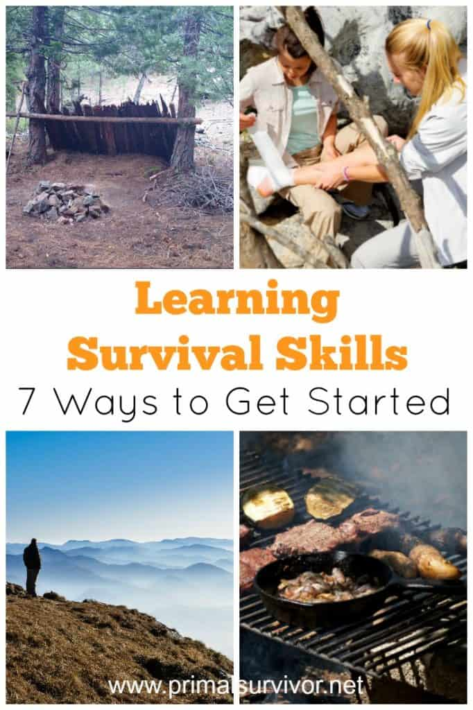 Learning Survival Skills 7 Ways to get started