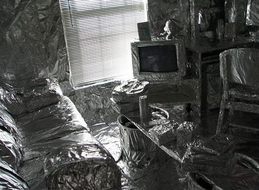 foil room faraday cage
