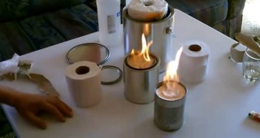 5 Emergency Heaters You Can Make with Everyday Household Items