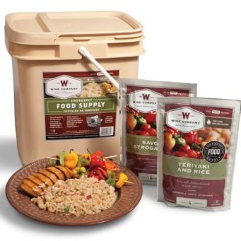 Cook-in-Pouch survival food by Wise