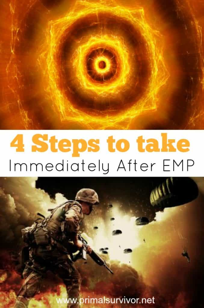 4 Steps to take immediately after EMP