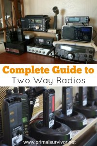 Complete Guide to the Best Two Way Radios: Ham, CB, FRS