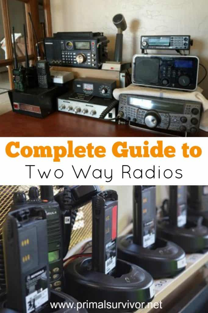 Complete guide to two way radios