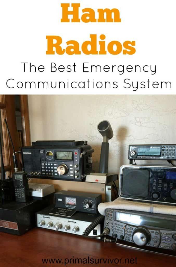 Ham Radio: The Best Emergency Communications System