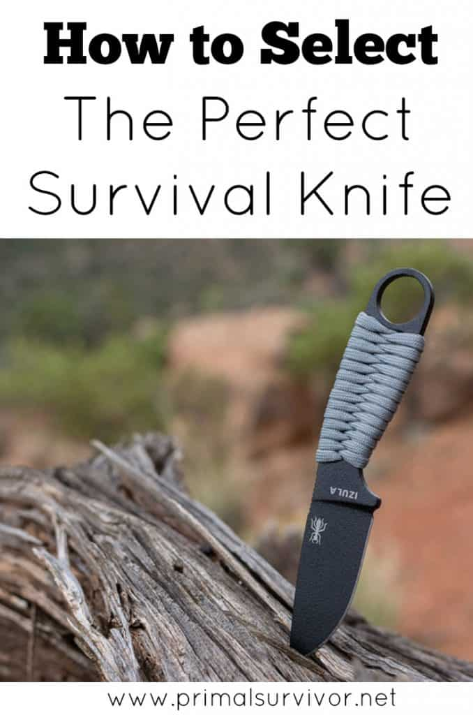 How to Select the Perfect Survival Knife